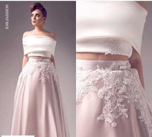 Short Lace Wedding Dresses A-Line High Neck Applique Coved Botton Back Split Applique Satin Sheer-illusion Bridal yk8R332