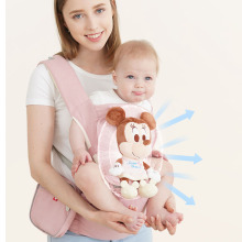 Disney sling baby carrier 6D breathable Infant hipseat Sling Front Facing Kangaroo Baby Wrap Carrier for