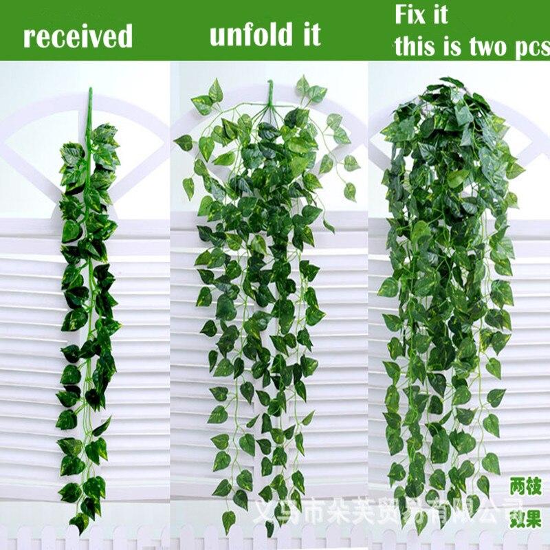 Heerlijk Ivy Leaf Chain Wijnstok Slingers! Kopen 3 1 Gratis! Vele Variëteiten! 90 Cm Lange Elke Moderne Technieken