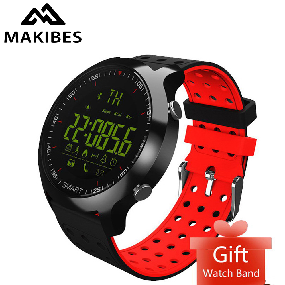 Free strap Smart Sports Watches Makibes EX18C Bluetooth 12 m