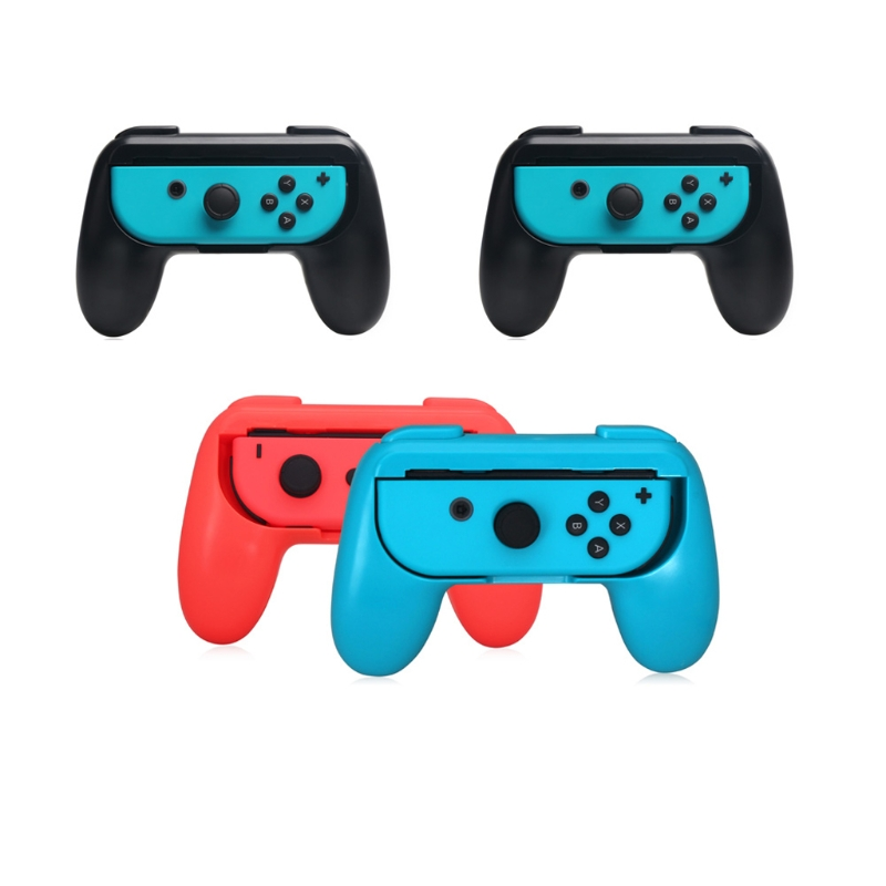 Hot 2pcs Controller Grips Handle For Nintend Switch Joy-Con NS N-Switch Console Holder High Dustproof Joy-con Handle(China)