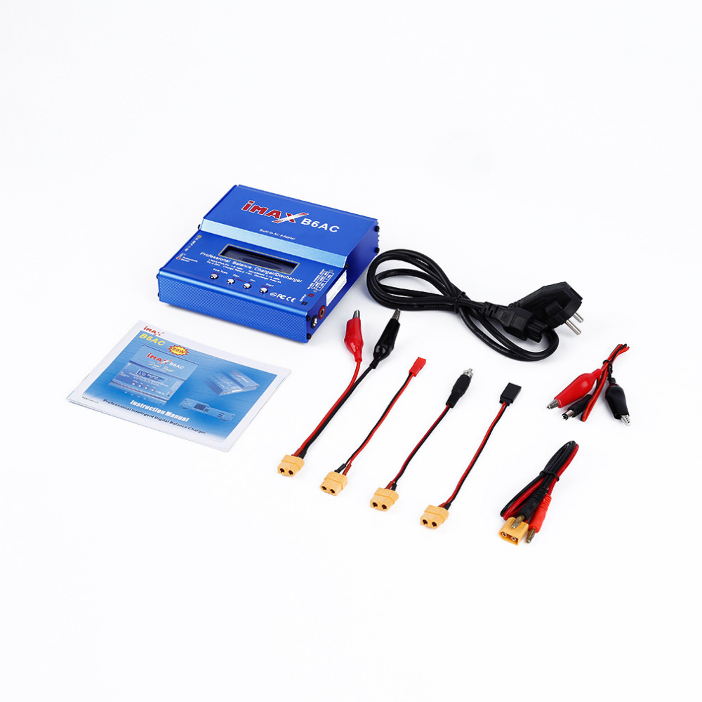 Brand new and high quality Mini Balance Charger B6AC LIPO 80W DisCharger for SKYRC SKY RC with XT60 EU Plug Newest