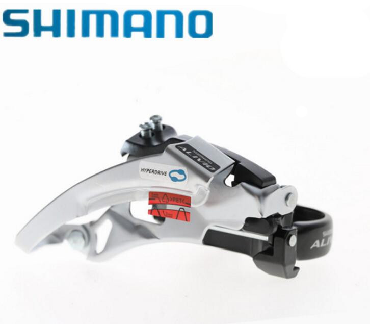 Creative Shimano Alivio M412 Front-mounting Mountain Bike 8/24 Speed Front Derailleur Diversified In Packaging Cycling