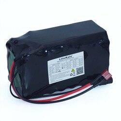 LiitoKala 16S2P 60V 5.2Ah 18650 akumulator litowo-jonowy 67.2 V 5200 mAh Ebike skuter elektryczny rower z 20A rozładowania BMS 1000 W
