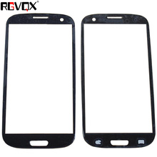 цена на Touch Screen Lens For Samsung Galaxy S3 i747 i535 T999 i9300 Front Outer Glass Cover Panel Replacement