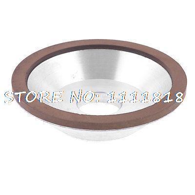 Bowl Shape 320 Grit 125mm x 32mm x 32mm x 10mm x 7mm Diamond Grinding Wheel cnbtr 15cm od cup bowl shape grinding wheel grit 150 cutting tool diamond width 1cm