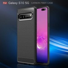 For Samsung Galaxy S10 5G Case Shockproof Soft Silicon Back Phone Cover for