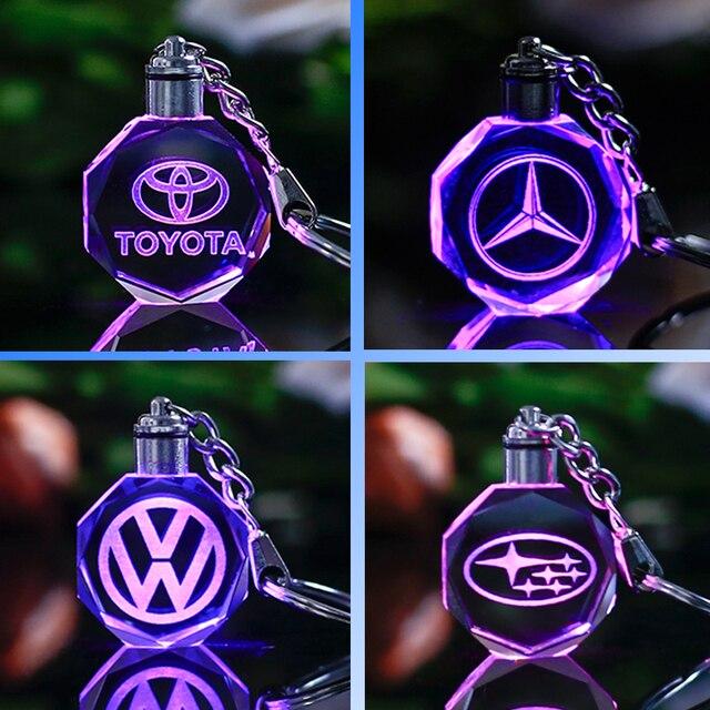 Berühmte oder Custom Car Logo Kristall Handwerk Mit Wechselnden ...