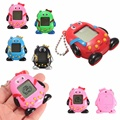 Venda quente Mini Pinguins Engraçados Brinquedos de Plástico Pet Eletrônico Digital Handheld Máquina de Jogo Para O Presente 5 cores
