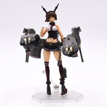 Anime Kantai Collection Mutsu Figma 242 PVC Action Figures Collectible Model Toys Christmas Gifts 15cm  FREE SHIPPING
