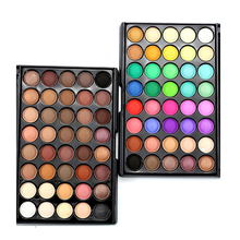 Professional Makeup Eye Shadow Palette Matte 40 Earth Colors Matte Pigment Eyeshadow Palette Cosmetics Mineral Make Up set