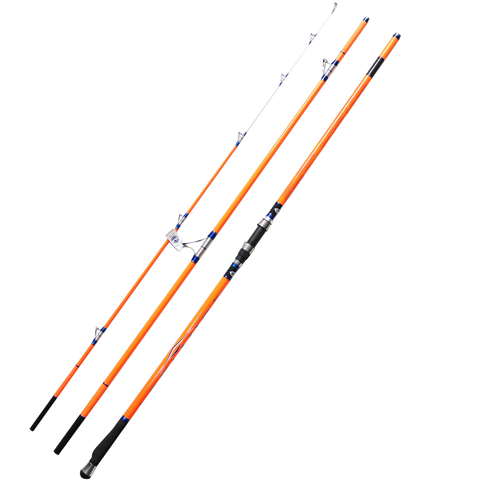 Cindy Surfcasting Rod FUJI Top Ring 3 Section 4.2m CW100G-250G Hybrid Tip High Carbon Surf Rod Fishing Rod cindy