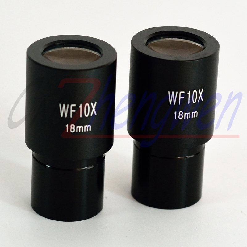FYSCOPE  WF10X/18mm Wide Angle Biological Microscope Eyepiece Lens Compound With Mounting Size 23.2mm