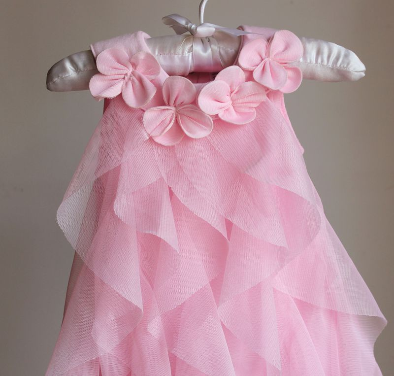 f1c33ac64 US $16.08 33% OFF|6 9 12 18 Months Outfit Pink Birthday Dress Baby Girl  2019 Summer Clothing Newborn Tutu Princess Dress for Infant-in Dresses from  ...