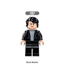 Single Sale Super Heroes Star Wars 707 Bruce Banner Mini Building Blocks Figure Bricks Toys kids gifts Compatible Legoed Ninjaed(China)