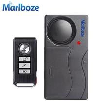Gratis Verzending Zwart 1 Set Afstandsbediening Fiets Electromobile Veiligheid Vibratie Waarschuwing Alarm Systeem Fiets Anti Verloren Herinnering