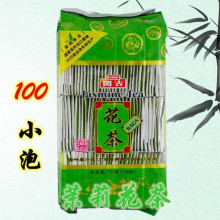 Hot selling 100 packs of jasmine tea bags, clear the liver and eyes, eliminate fatigue, good quality, free of freight
