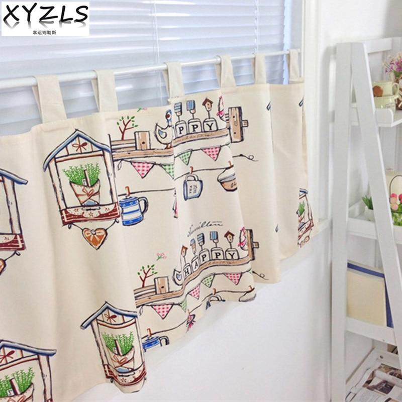Kitchen Cafe Curtains Modern: Aliexpress.com : Buy XYZLS Fashion Modern Style Cotton