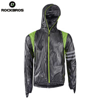 ROCKBROS Cycling Waterproof Jersey Raincoat Breathable MTB Riding Motocross Bikes Jersey Anti Sweat Bicycle Men Cycling