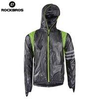 ROCKBROS Cycling Waterproof Jersey Raincoat Breathable MTB Riding Motocross Bikes Jersey Anti Sweat Bicycle Men Cycling