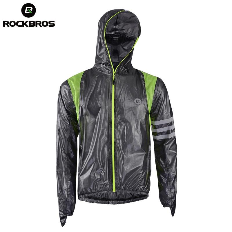 ROCKBROS Cycling Waterproof Jersey Raincoat Breathable MTB Riding Motocross Bikes Jersey Anti-sweat Bicycle Men Cycling Clothing
