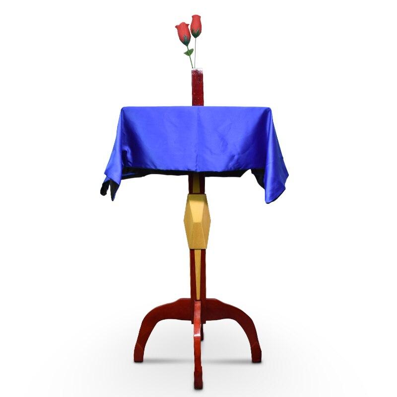 Mesa flotante de lujo con jarrón Anti gravedad que lleva el caso trucos de magia profesional mago accesorios para trucos de ilusionismo