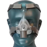 CPAP Mask Nasal Mask With Adjustable Headgear Strap Clip For Sleep Apnea Anti Snoring Treatment Solution