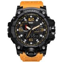 2018 最新ブランドデジタルスポーツウォッチ男性の G スタイル防水スポーツミリタリーショック男性高級クォーツ LED デジタル腕時計