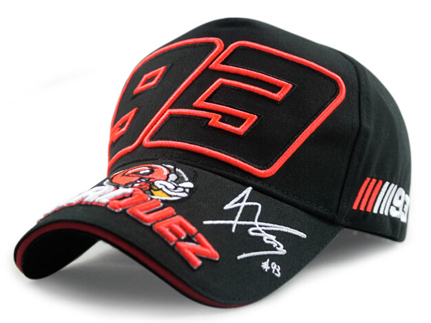 c36f6b51dcd Marc Marquez Signature 93 Racing Cap Men Motogp Race Caps Embroidered Ants  Baseball Cap Cotton Sun