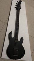 Wholesale New Arrival 4 String Electric Bass Guitar Black Hardware In Matte Black 180208