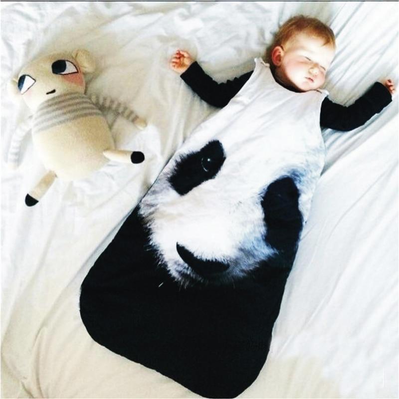 Panda Sleepsacks Fashion Shark Sleeping Bag Newborns Sleeping Bag Winter Sleeping  Bag,Swaddle Blanket Wrap