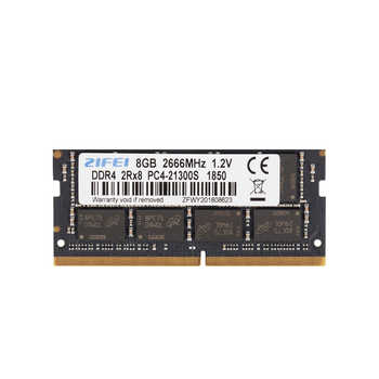 ZiFei ram DDR4 4GB 8GB 16GB 2133MHz 2400MHz 2666MHz 260Pin SO-DIMM module Notebook memory for Laptop