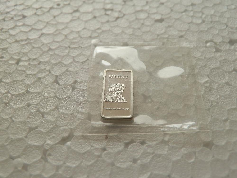1 унц. серебряные слитки