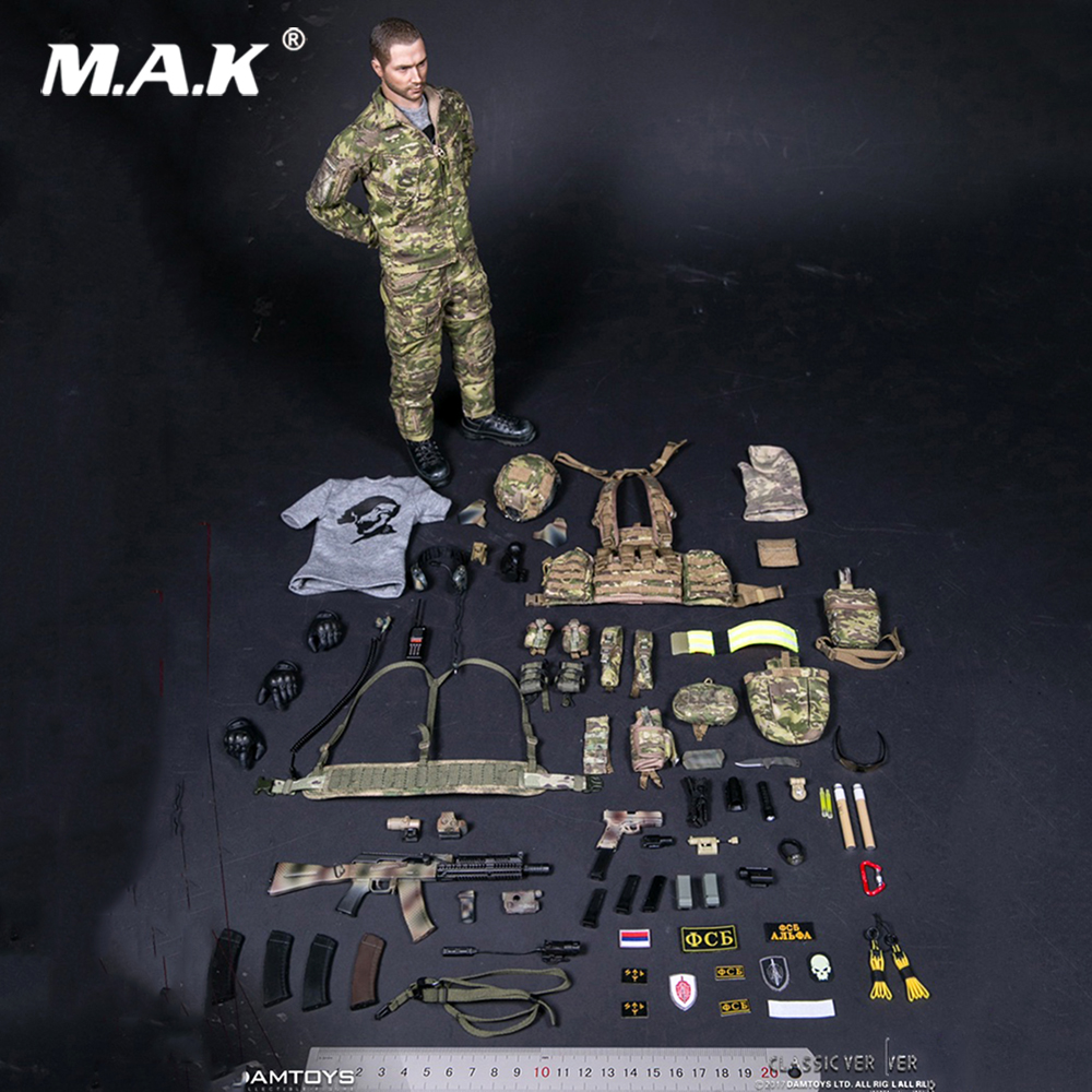 For Collection Solider Action Figure full set 1/6 78047B RUSSIAN SPETSNAZ FSB ALPHA GROUP Male Figure Standard Ver.