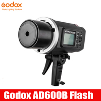Godox Wistro AD600B Bowens Mount 600Ws TTL GN87 HSS 1/8000S Flash with 2.4G X System 8700mAh Li on Battery for Canon Nikon