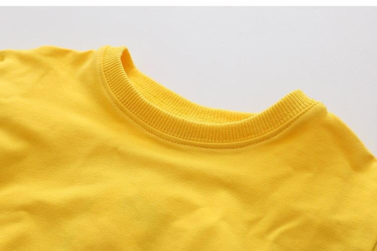 2018 Spring Autumn 2-10 11 12 Years Old Teenager Children Patchwork Fake 2 Pcs Baby Kids Basic Sweatshirt For Girls 11 12 Years (20)
