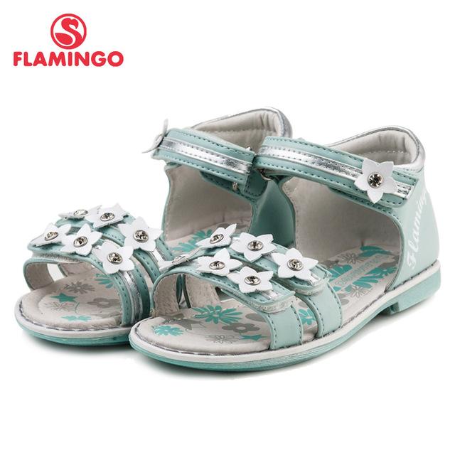 FLAMINGO famosa marca 2016 Recién Llegado de Primavera y Verano Los Niños sandalias de Moda de Alta Calidad para las niñas 61-QS122