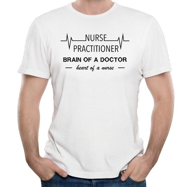 d191de2a2f227 Heart Of A Nurse Practitioner 2017 design men's t shirt-in T-Shirts ...