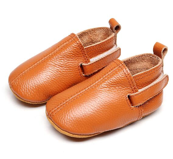 2020  Customs New Hot Sell Baby Moccasins Genuine Leather Handmade Baby Girls Boys Shoes First Walkers Fashion Baby Shoes