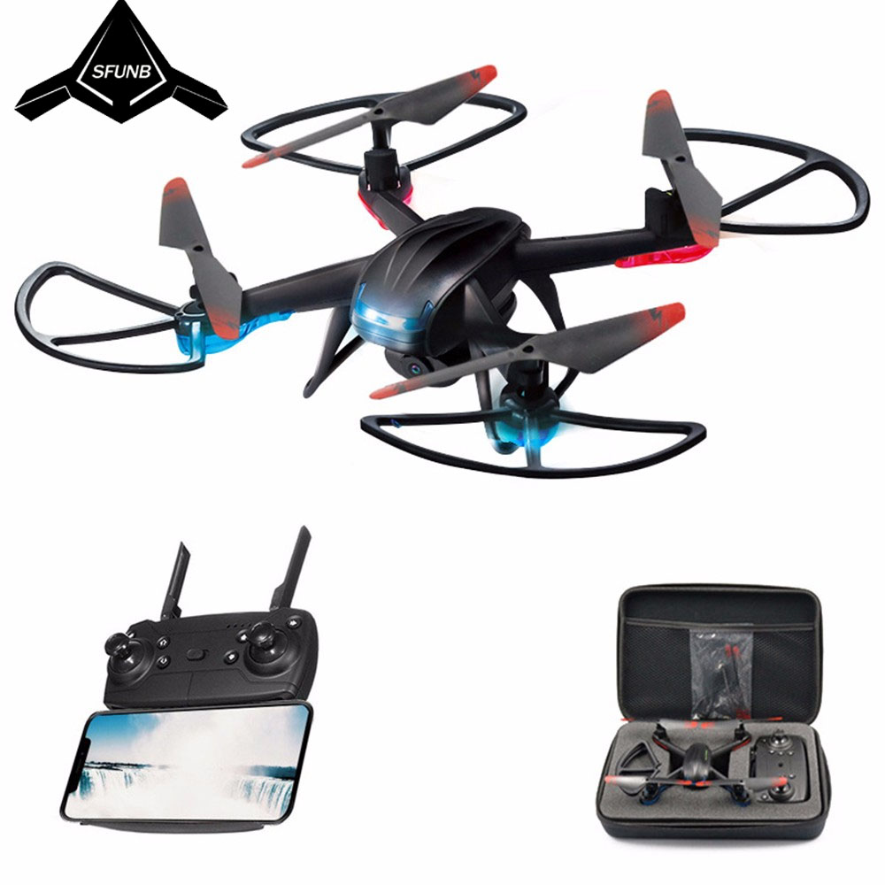 Drone GW007-3 RC Quadrocopter FPV Drones with Camera HD High Hold Mode Easy to Operate Mini Dron with HD Camera