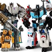 HaiZhiXing 5 в 1, большой размер 32 см, разрушитель, игрушка, мальчик, трансформация KO, робот, автомобиль, фигурка, самолет, танк, модель, ребенок, игрушки для взрослых
