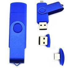 functiona lDual USB Flash Drive USB 2.0 Smartphone Pen Drive 4gb 8gb 16gb 32gb Memory Stick External U-Disk Flash Card