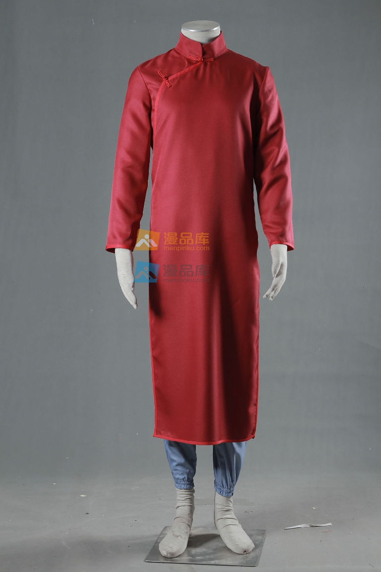 Chinese style cheongsam Mens Cosplay Naruto 8 generations Sabaku no Gaara Cosplay Costume