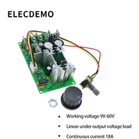 motor drive DC motor governor 12V24V36V48V high power drive module PWM controller 20A converter function demo board (1)