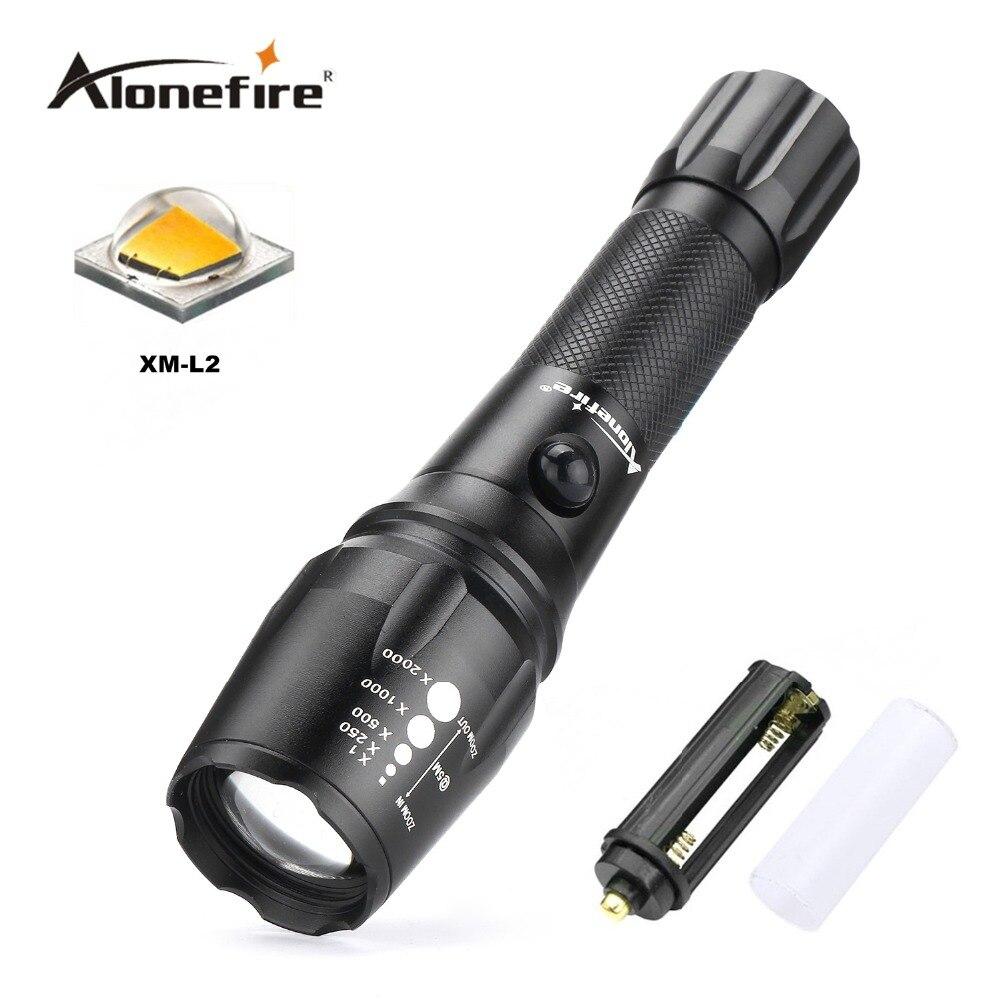 Alonefire G900 CREE XM-L2 LED 8000LM Wasserdichte Zoomable Taschenlampe Jagd licht für 18650 Wiederaufladbare oder AAA Batterie