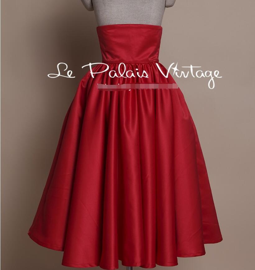 Rétro Empire rose Lap Moelleux Casual De Jupe Top rouge rouge Robe Poudre Élégant noir Mode Noir 6Ew7qxFY