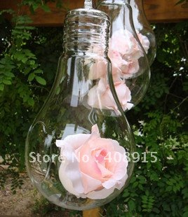 aliexpress  buy new hanging bulb shape vase middle size, Garden idea