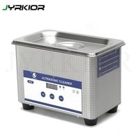 Jyrkior Stainless Steel Digital Ultrasonic Cleaner Wave Smart Ultrasonic Cleaner Jewelry Cleaner For Phone Glass Lens Clean Tool