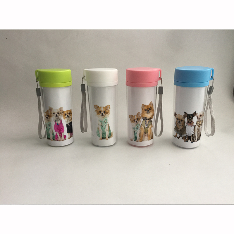 Aliexpress Com Buy 350ml Portable Dog Pet Water Bottle: Aliexpress.com : Buy Water Bottle Cute Dog Pattern Print