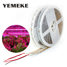 5M LED Plant Grow Grow Lights 5050 DC 12V Phyto Lamps Full Spectrum Led Strip Good For Greenhouse Hydroponic Plants Growth full spectrum led grow lighting 49 3w 147w mini ufo good for the growth of plants free shipping to russia